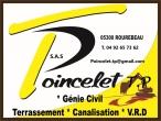 Poincelet: POINCELET TP: Genie civil Terrassement Canalisations
