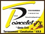 POINCELET TP: Genie civil Terrassement Canalisations